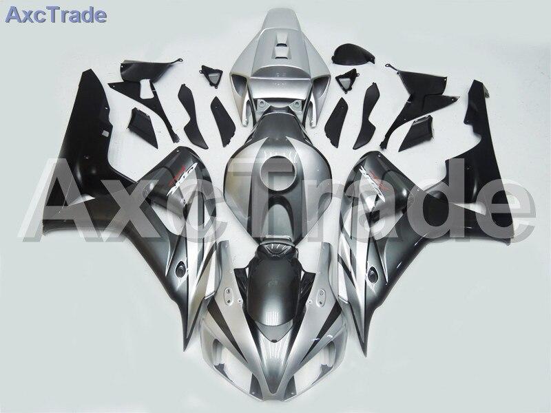 Motorcycle Fairings For Honda CBR1000RR CBR1000 CBR 1000 RR 2006 2007 06 07 ABS Plastic Injection Fairing Kit Bodywork Silver