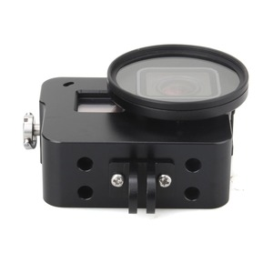 Image 3 - EACHSHOT Alüminyum Alaşım İskelet Kalın Katı ile Koruyucu Kılıf Kabuk için 52mm Uv Filtre Gopro Hero 7 6 5 kamera