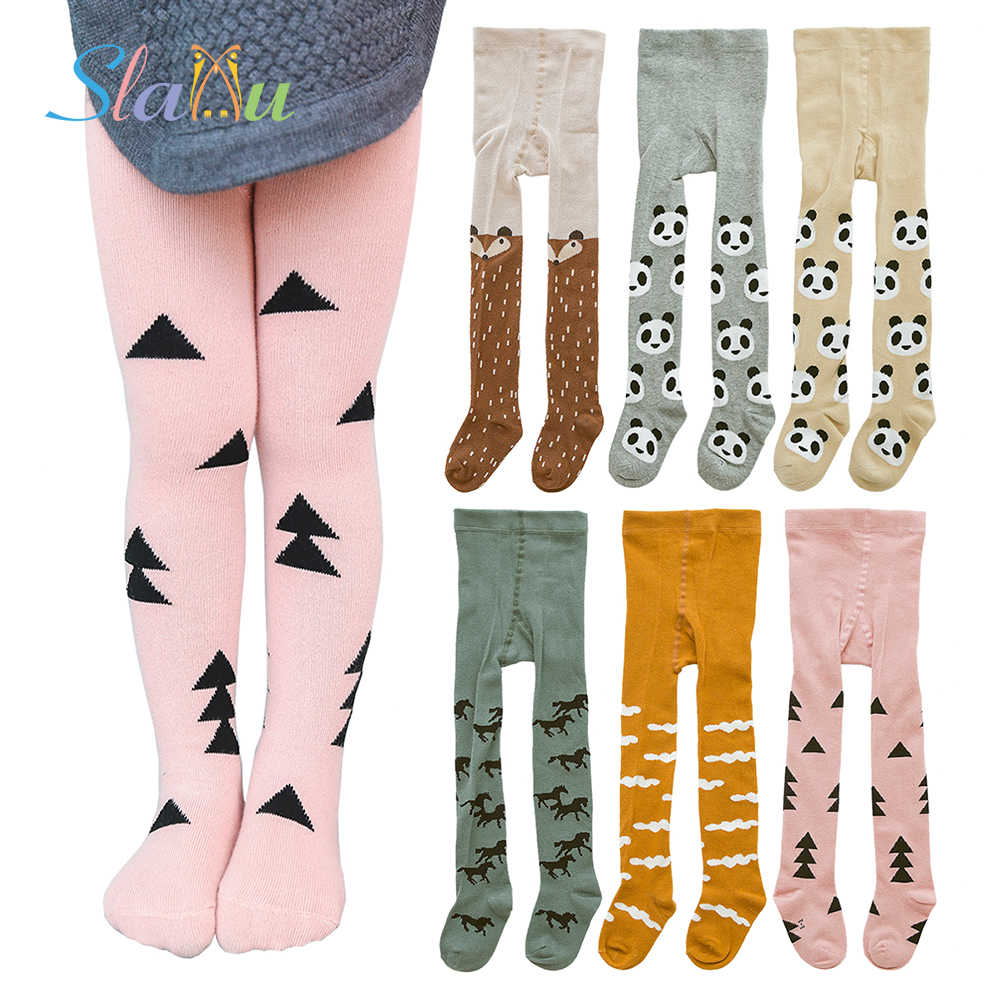 a6a41ea37 Baby Tights Cute Animal Kids Tights for Girls Boy Tights Cotton Stocking  for Children Casual Stockings