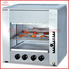 GT14 Gas infrared salamander oven grill machine