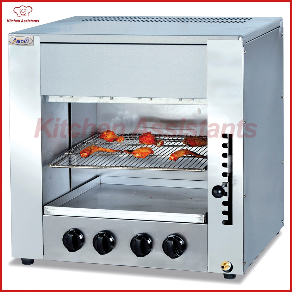GT14 Gas infrared salamander oven grill machine-in Electric Grills ...