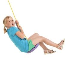 FLAT SWING SEAT Playgroun Swing Seat toys Rotating Play for Kids boy girl Outdoor exercise tree Hanging Seat