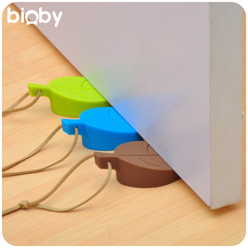 Silicone Door Anti Pinch Door Stop Windproof Door Plug Door Stopper Baby Kids Safety Protection Finger Guard Doorstop Safeguard защитные накладки для дома happy baby фиксатор для двери pull out door stopper