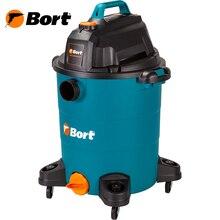 Пылесос для сухой и влажной уборки BSS-1530-Premium (Мощность 1500 Вт, вместимость пылесборника 30 л, длина шланга 4 м, функция выдува и сбора жидкости, автоотключение, подключение электроинструмента, длина кабеля 6 м