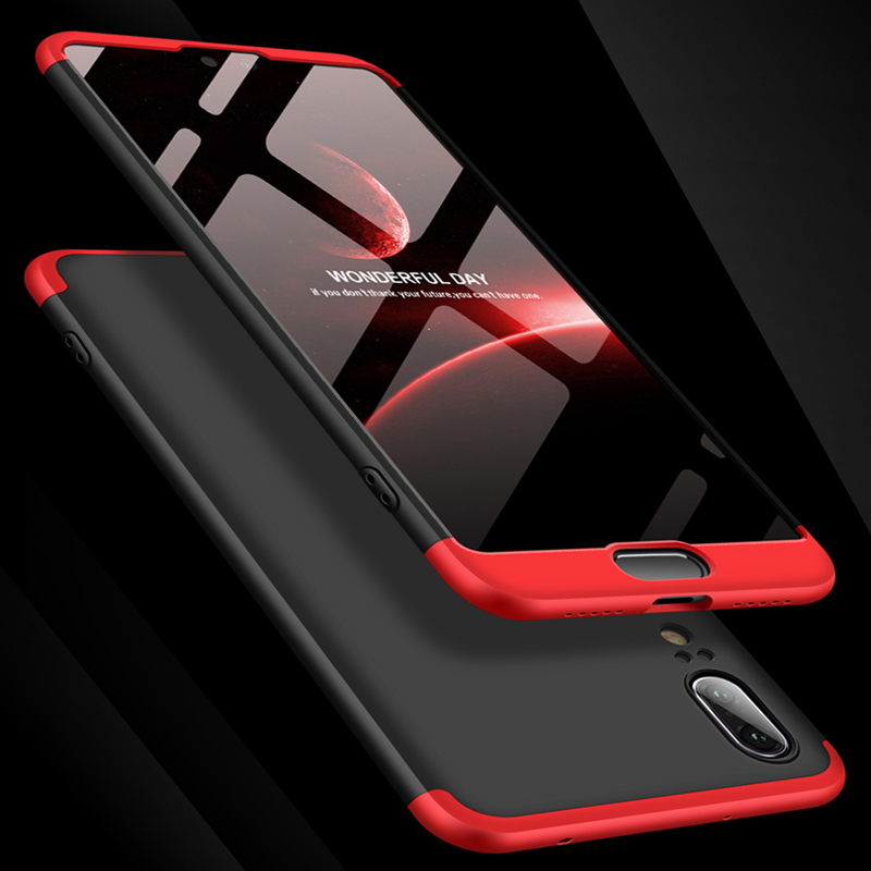 Luxe 360 Degré étui pour Huawei Nova 3e Cas Avec Verre Trempé Pleine Couverture Pour Huawei P20 Lite Téléphone étui pour Huawei P20