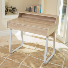 Denise Austin Home Troy Wood Computer Desk with Drawers