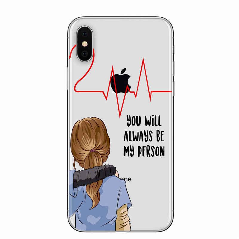 American TV Riverdale Betty dan Veronica Persahabatan Grays Anatomy Kau Orang Phone Case untuk iPhone 5 6 7 8 Plus X XR Max