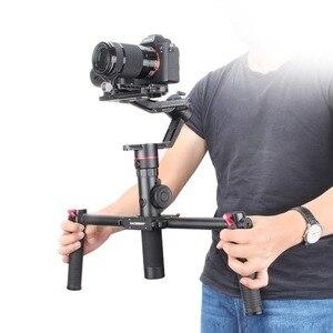 Image 3 - FeiyuTech Feiyu Tech AK2000 3 แกน Stabilizer สายแฮนด์เฮลด์ Gimbal สำหรับ Sony Canon Panasonic 2.8 กก.น้ำหนักบรรทุกแบบ Dual จับ