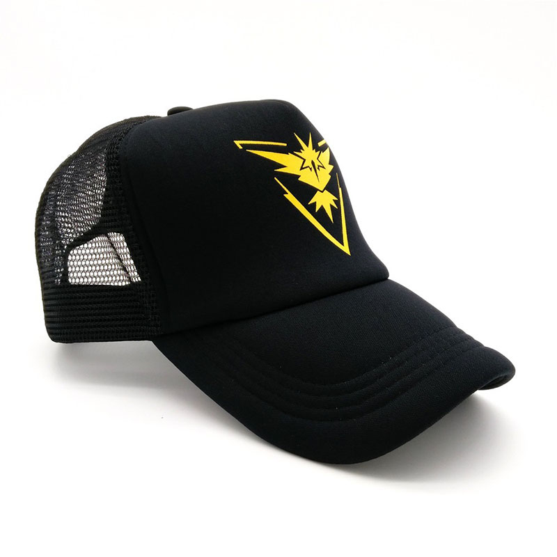 6f14fcc59a2 Unisex Cartoon Anime Pokemon Casual Baseball Caps Outdoor Sunscreen  Breathable Net Hats For Men Women Adjustable Hip Hop Hats-in Baseball Caps  from Apparel ...