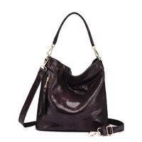 Women Genuine Leather Handbag New 2017 Ladies Crossbody Bags Tote