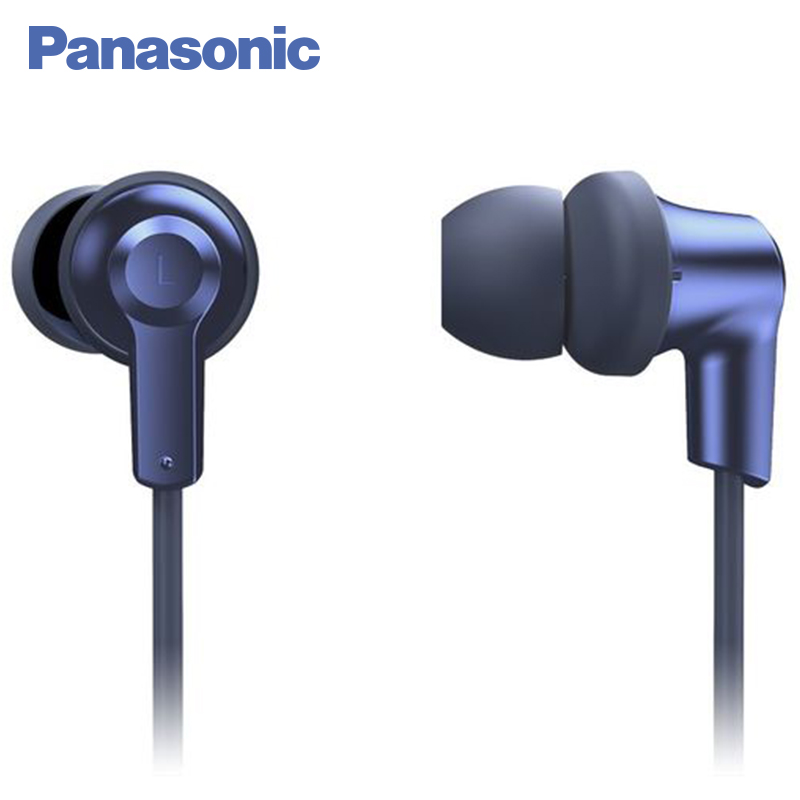 Panasonic RP-NJ300BGCA In-Ear Earphone Bluetooth Wriless Stereo Sound Headphones Headset Music Earpieces Earphones panasonic rp tcm50e k in ear headphones microphone and remote control compatible with smartphone clear bass sound custom design