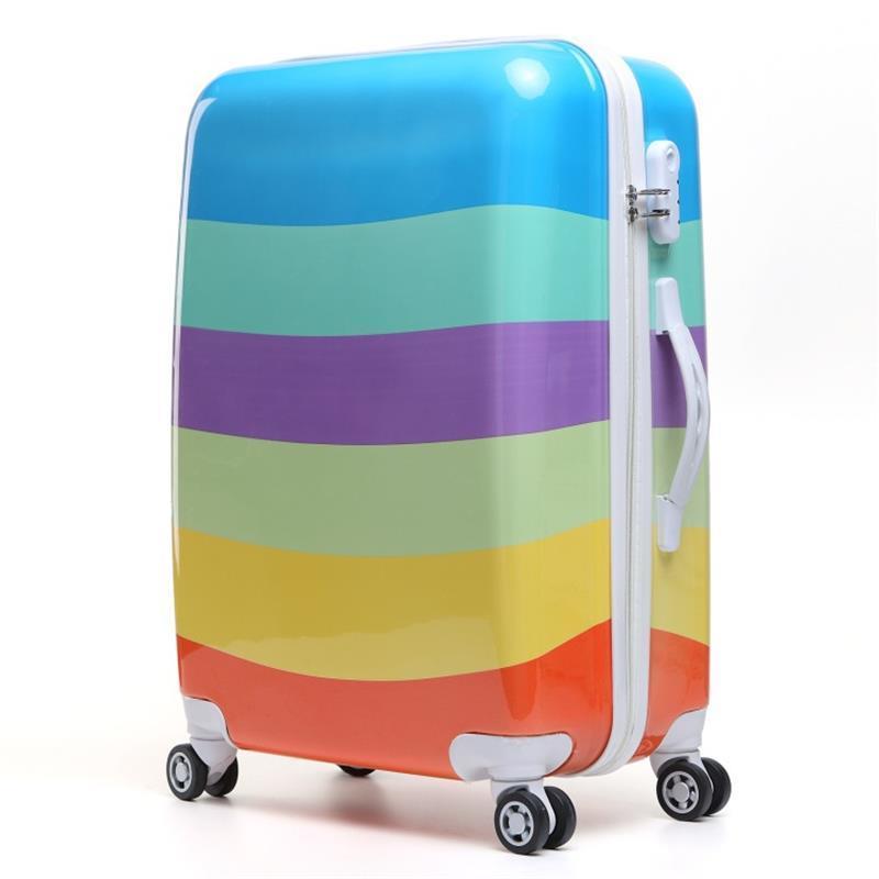 купить Viaje Con Ruedas Envio Gratis Carry On Cabine Valise Colorful Koffer Valiz Maleta Trolley Suitcase Luggage 20222426inch