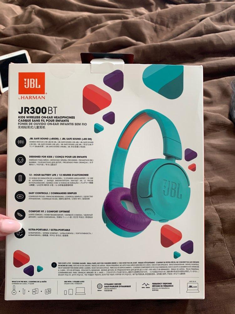 Детские беспроводные наушники JBL JR300BT