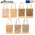 Корковая Сумка-тоут  сумка для шоппинга  сумка на плечо для ноутбука  Холщовая Сумка  Сумка для пляжа  сумка-406