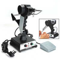 220V Rework Station SMD Hot Air G Un Soldering Irons Preheating Station Functions AC Rework Dominating