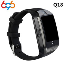 696 Smart Watch Q18 Pedometer Anti-lost Smartwatch Support SIM TF Card Phone with Camera for IOS Android PK DZ09 GT08