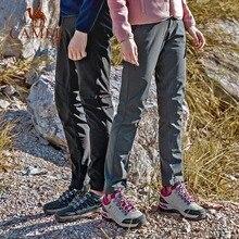 b83044eb17 CAMEL Men Women Waterproof Hiking Pants Spring Summer Breathable Outdoor  Trousers Sport Tactical Climbing Trekking Pants