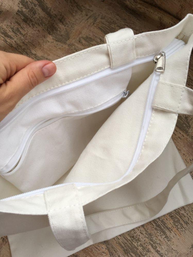 YILE Katoenen canvas Eco Shopping Tote schoudertas geborduurd rood hart ZT718a photo review