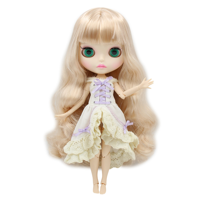 TBL Neo Blythe Doll Golden Blonde Hair Jointed Body