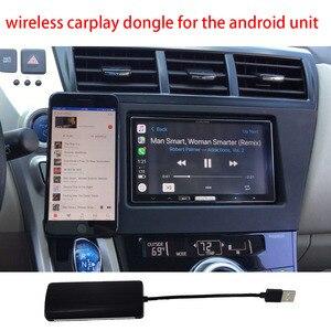 Image 4 - Senza Fili di Apple Carplay Dongle per Android di Navigazione Radio Auto Lettore Usb Carplay Kit con Android Auto Usb Dongle Carplay Kit