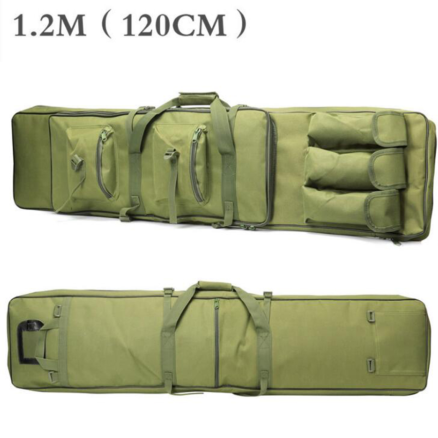 Tactical Bag 85 100 120 cm Gun Rifle Square Carry Bag Army Green With Shoulder Strap