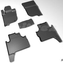 Резиновые коврики для Mitsubishi Pajero Sport 3 2016-2019 Seintex 87982