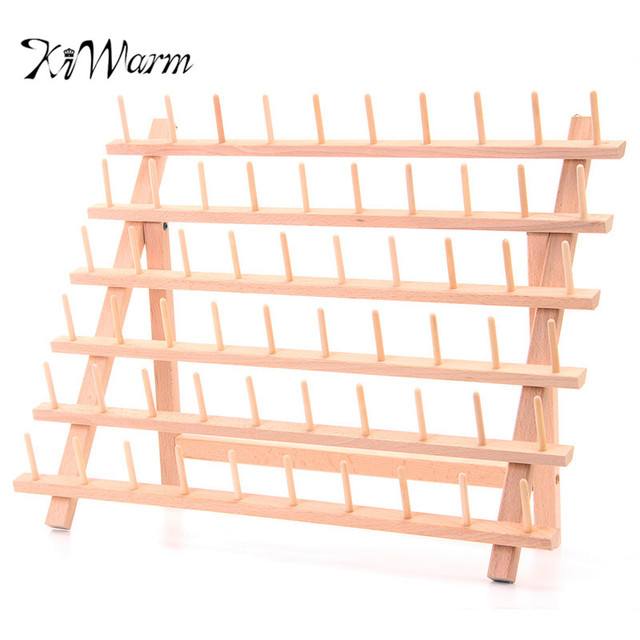 KiWarm Folded Wood Tailor Thread Rack 60 Spool Sewing Embroidery Thread Organizer Storage Holder Sewing Accessories  sc 1 st  AliExpress.com & KiWarm Folded Wood Tailor Thread Rack 60 Spool Sewing Embroidery ...