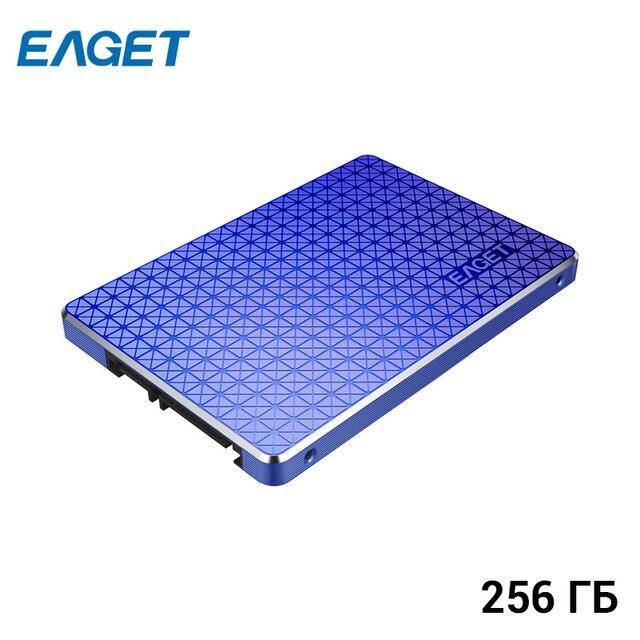 """Внутренний твердотельный накопитель EAGET SSD 256 ГБ 2,5"""" SATA3"""
