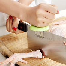 Color Random New power knife cap kitchen peeler chopping booster cut fish chicken bones dual-purpose knife bracket cap