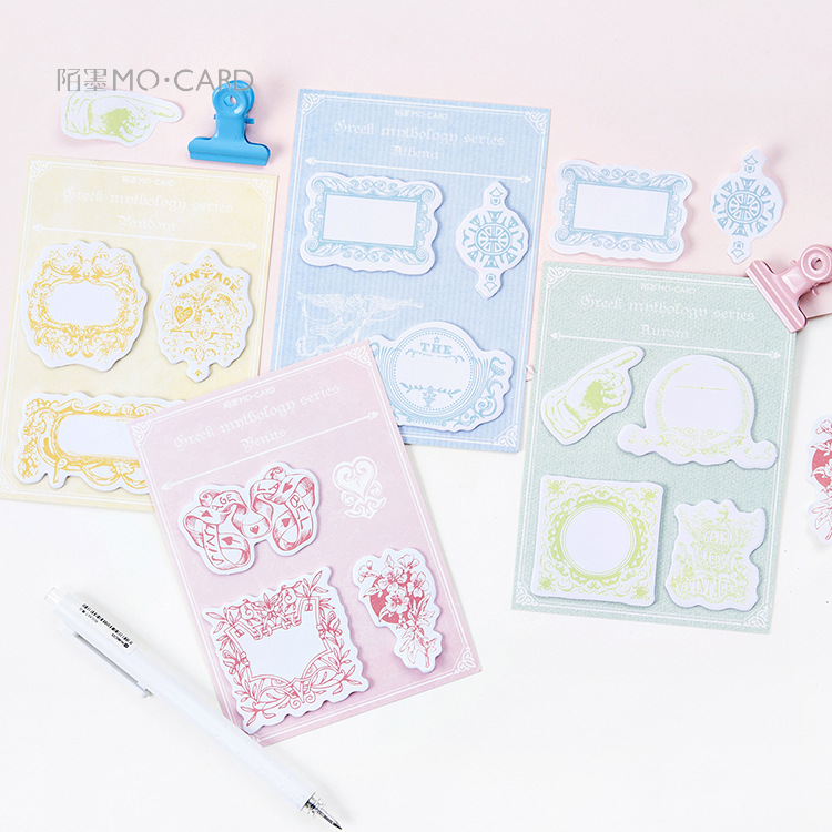 20 sets/1 lot Creative In Greek mythology Memo Pad Sticky Notes Escolar Papelaria School Supply Bookmark Post it Label