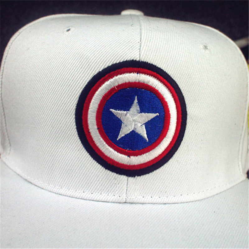 ea8070d86fd86 2017 Marvel s The Avengers Baseball Cap Hat Men Women Adjustable Captain  America Snapback Hats Hip Hop Caps Casquette Bone M19-in Baseball Caps from  Apparel ...