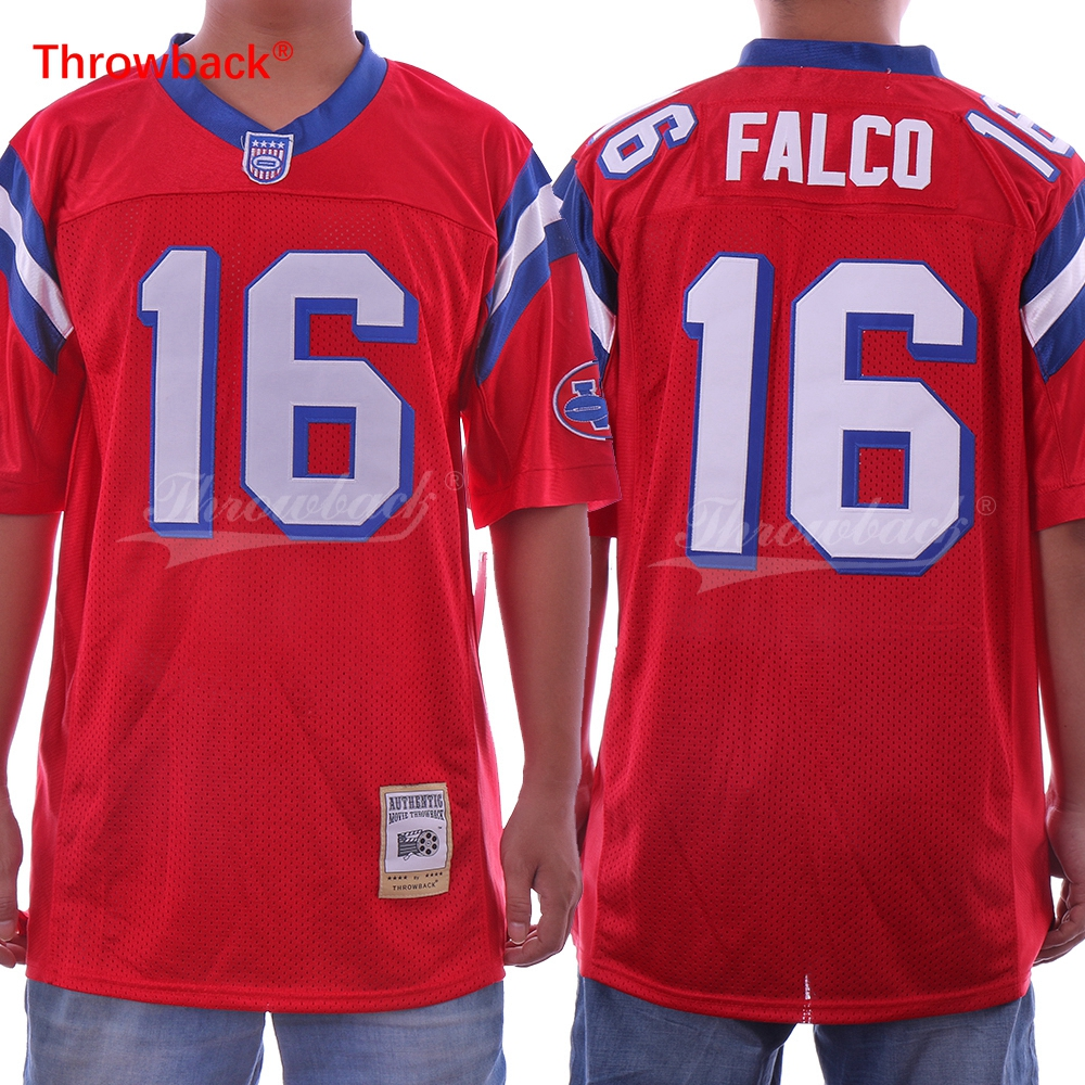 1941200ea52 SHANE FALCO #16 THE REPLACEMENTS MOVIE FOOTBALL JERSEY RED Sports Mem,  Cards & Fan Shop ANY ...