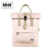 8848 Women Preppy School Bags For College Student Blue Oxford Waterproof Travel Girls Brand Backpack Mochila 030-041-001