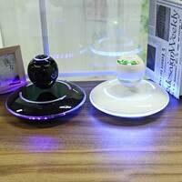 Wireless Levitation Bluetooth Globe Speaker 360 Degree Stereo Player LED Subwoofer