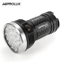 Новые Astrolux MF01 18x XP-G3/Nichia 219C 12000LM супер яркий светодио дный фонарик 18650 IPX-7 Водонепроницаемый 7 режимов факелы Lanterna