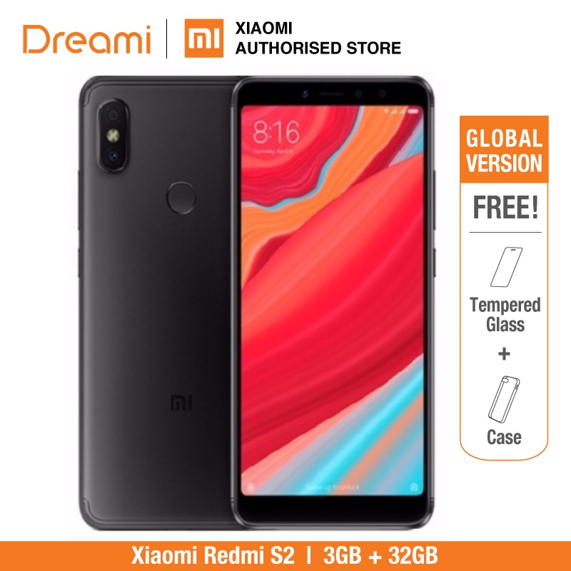 Global Version Xiaomi Redmi S2 32GB ROM 3GB RAM (Brand New And Sealed) Redmis2 32gb