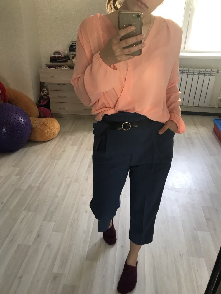 Ol Style High Waist Women Harem Pant Sashes Work Business Trousers Casual Female Pants Pantalones Mujer photo review