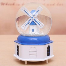 Muziekdoos Caixa Presente Spieluhr La Land De Muzik Kutusu Snow Ball Musica Carousel Caja Musical Boite A Musique Music Box