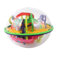 299 Steps 3D Magical Intellect Maze Ball IQ Balance Logic Ability Perplexus Magnetic Toys Training Tools