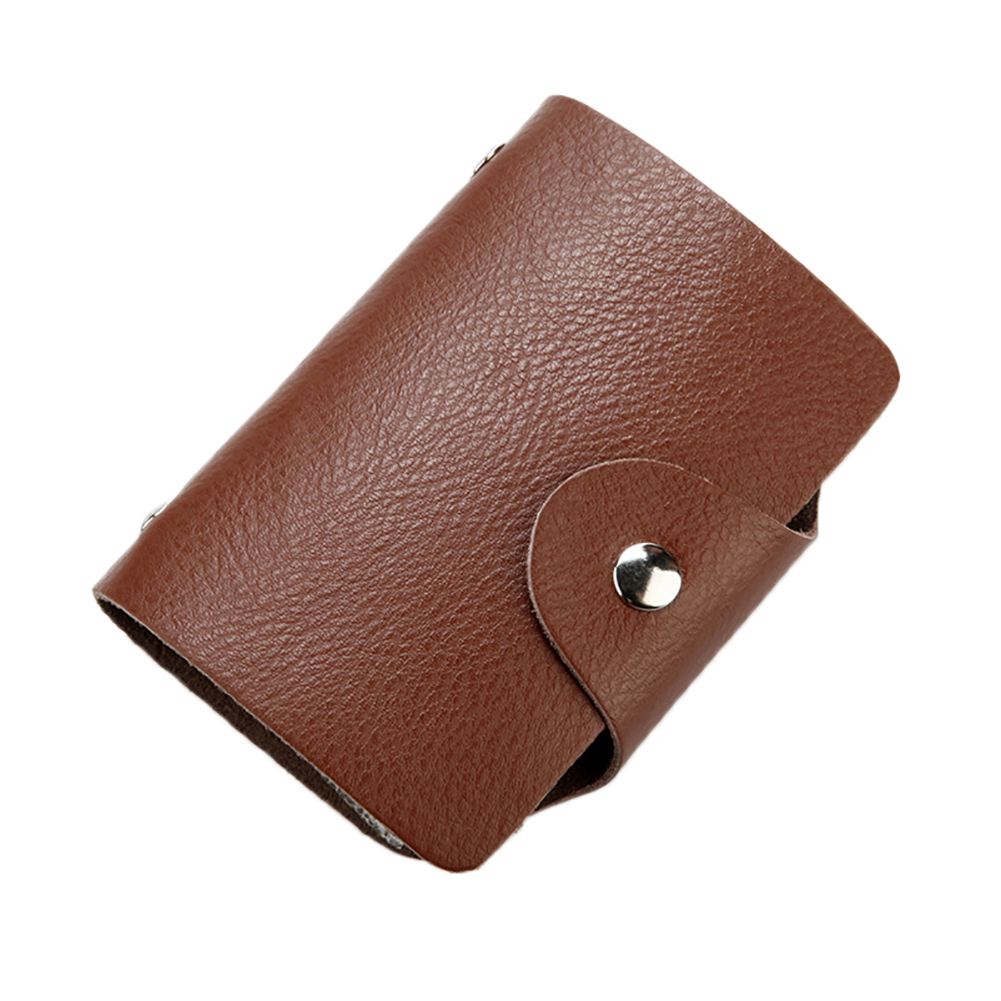 aliexpress  buy 26 slots genuine leather business id