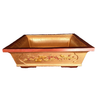 60cm (23.62 in) Durable Home Garden Bonsai DIY Chinese/ Zeng Style Gardening Rectangle Concrete Flower Pot Mold