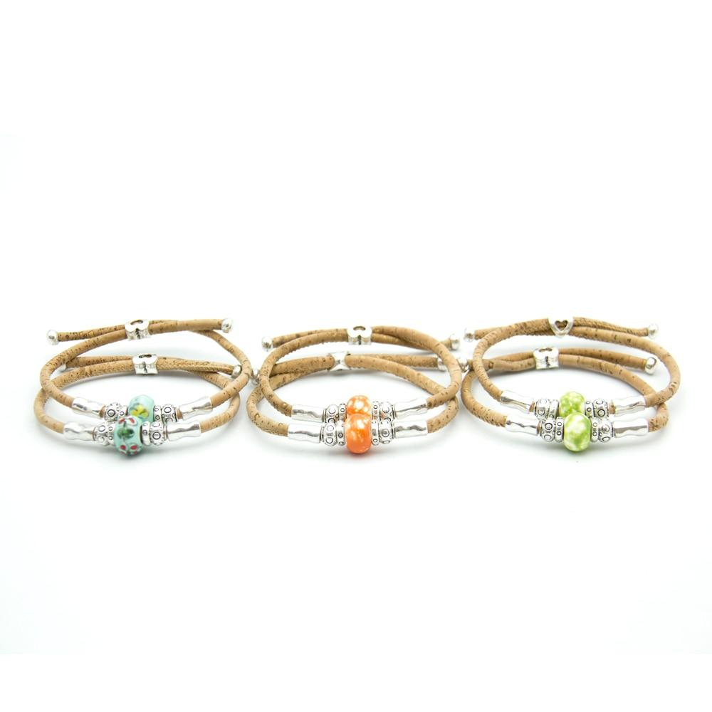Cork Jewelry: Cork Jewelry Cork Bracelet For Women Natural Cork With