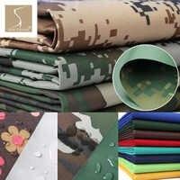 150 cm de large résistant Durable Oxford tissu imperméable à l'eau en plein air militaire Camo tissu mousse vert feuille Camouflage répulsif tissu