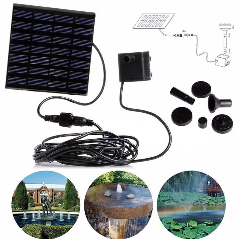 160L/H  7V Solar Water Panel Power Fountain Pumps Kit Garden Pool Pond Submersible Watering Garden Decoration Free Shipping160L/H  7V Solar Water Panel Power Fountain Pumps Kit Garden Pool Pond Submersible Watering Garden Decoration Free Shipping