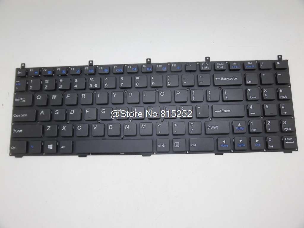 Laptop Keyboard For Gigabyte Q1500M Q1532M Q1532N Q1532P Q1542C Q1700C Q1732N Q1742F Q1742N United States US With New Packaging gigabyte keyboard gigabyte osmium cherry mx brown