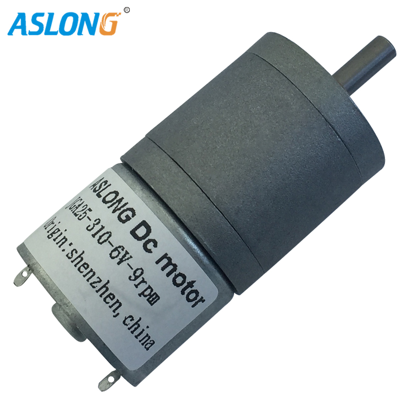 2PCS/LOT JGA25-310 DC Micro Deceleration <font><b>Motor</b></font> Gear Box <font><b>Motor</b></font> 6V <font><b>12V</b></font> DC <font><b>Motor</b></font> with <font><b>25mm</b></font> metal gear box from 7 to 1818rpm image