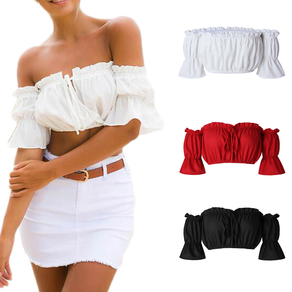 2017 Sexy Fashion Fold Tops Fold Flash Corset Sexy Korse Tube Top