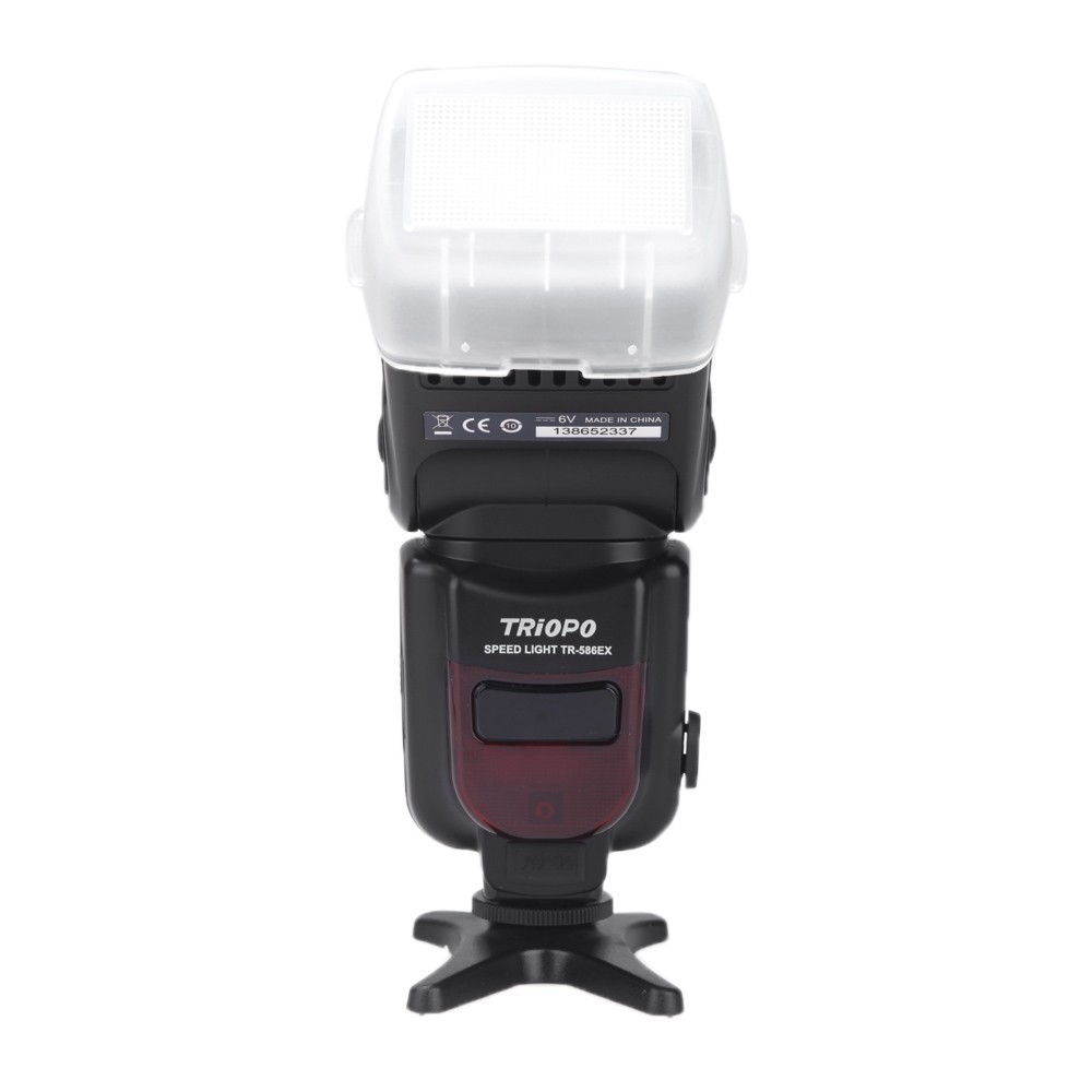 Triopo TR-586EX Wireless Flash Mode TTL Speedlite Flashes For Canon 700D 70D 7D II 760D Flashe triopo tr 586ex wireless flash mode ttl flash speedlight speedlite for canon eos 7d m6 60d 6d 5d mark ii as yongnuo yn 568ex ii