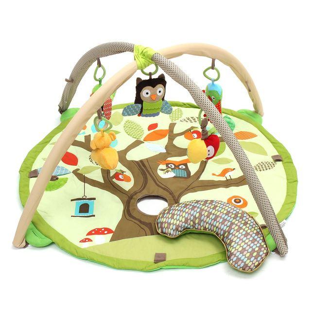 Newborn Infant Baby Crib Children Activity Gym Playmat Soft Floor