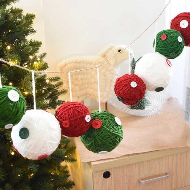 Hoomall 10\/12 cm Weihnachtskugeln Anhänger Navidad - christbaumschmuck 2017
